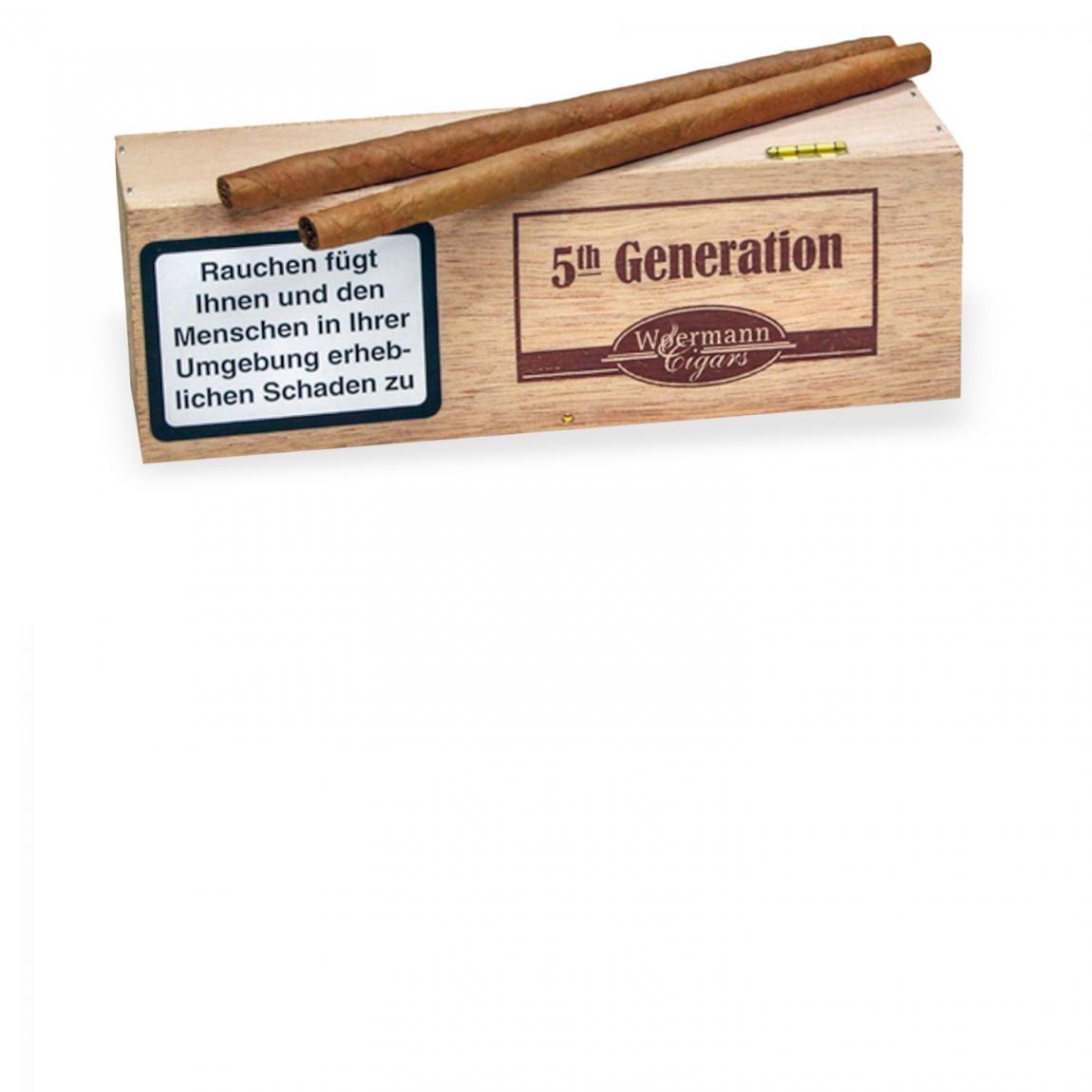 5th Generation »Long Cigarillo Sumatra« 25er Kiste