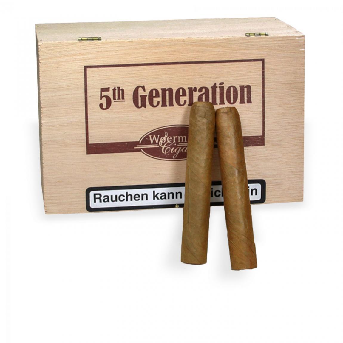 5th Generation »Corona Sumatra« 50er Kiste