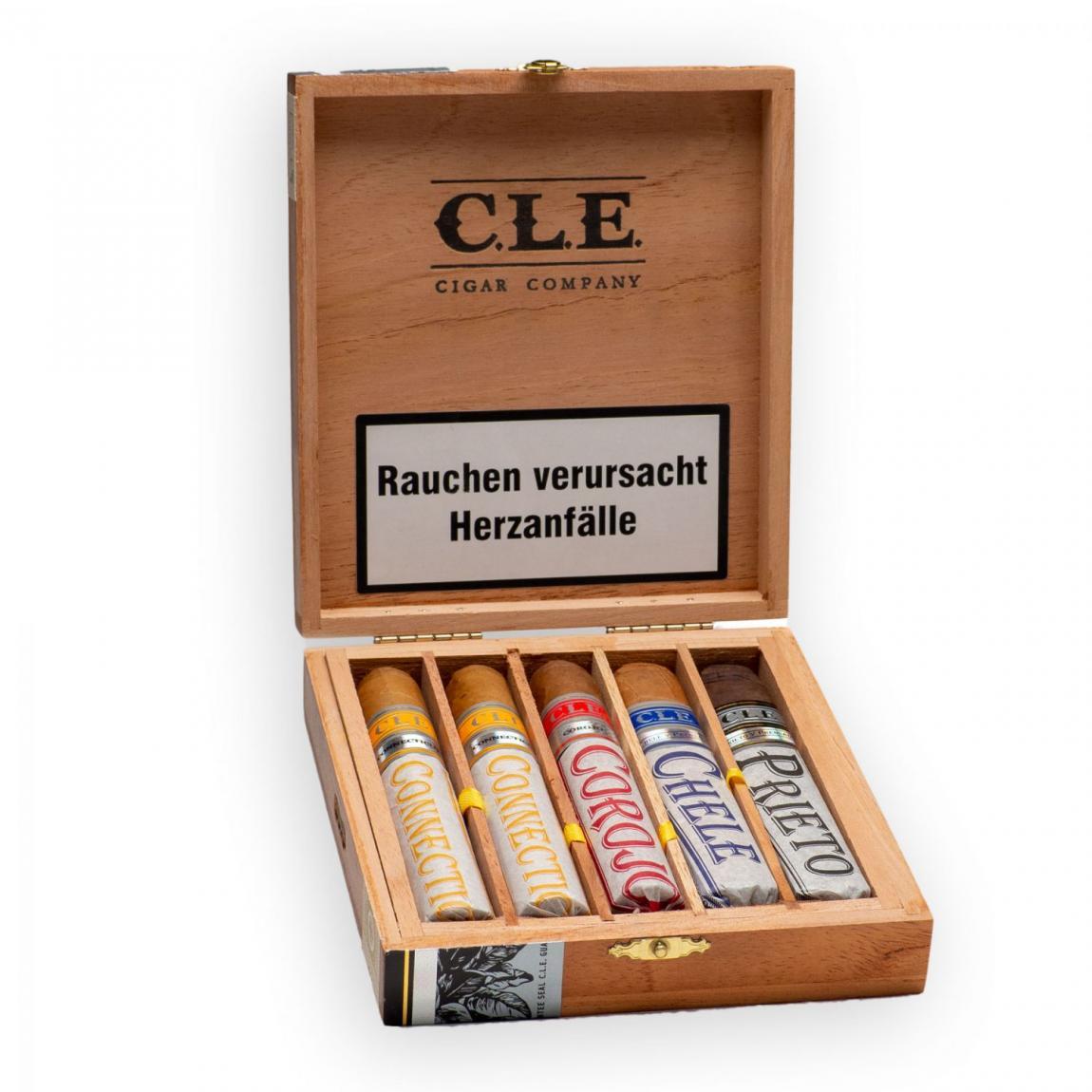 C.L.E. Robusto 50x5 Sampler, 5er