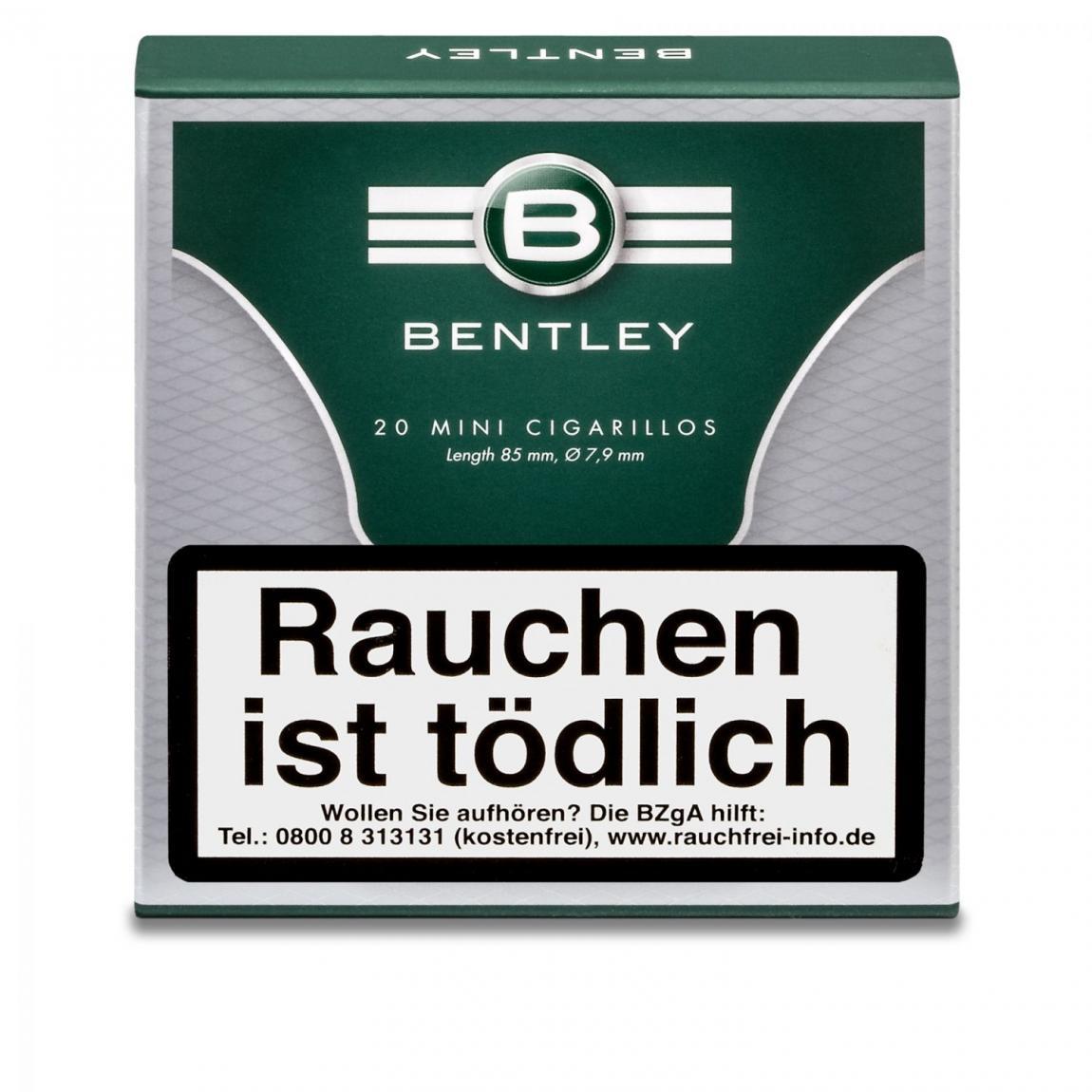 Bentley Mini Cigarillos, 20er Schachtel
