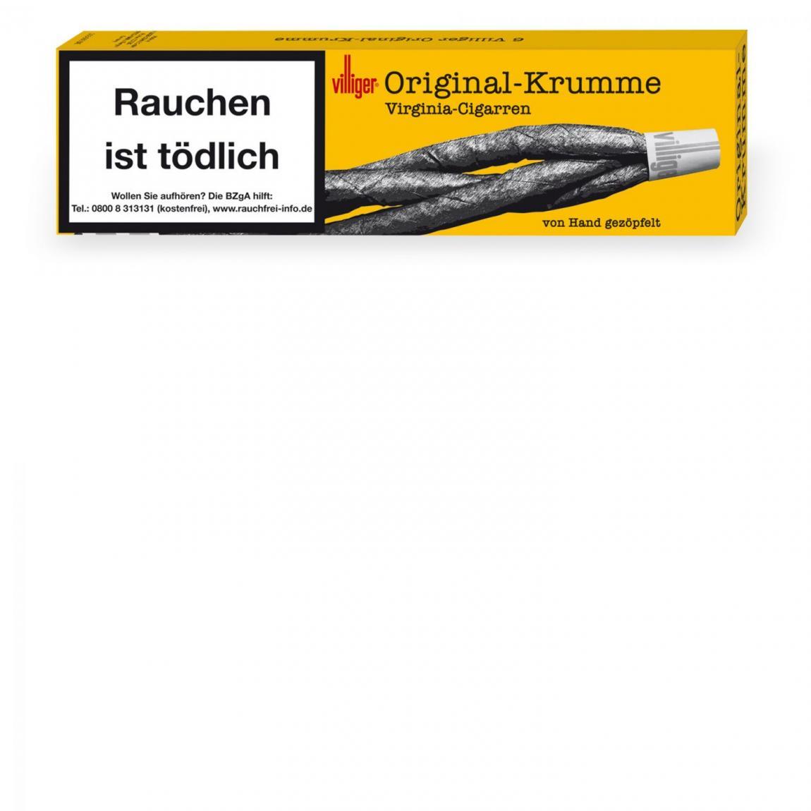 Villiger Original-Krumme 6er Schachtel