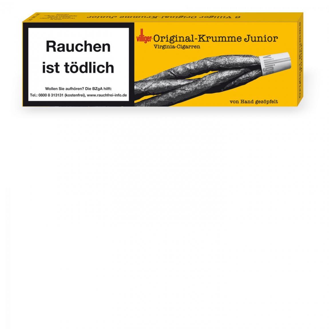Villiger Original-Krumme Junior 6er Schachtel