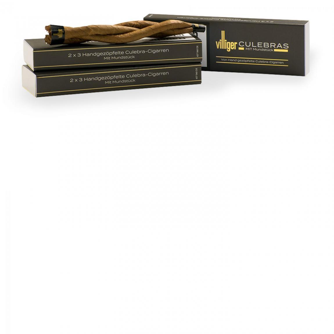 Villiger Culebras mit Mundstück, 6er Schachtel