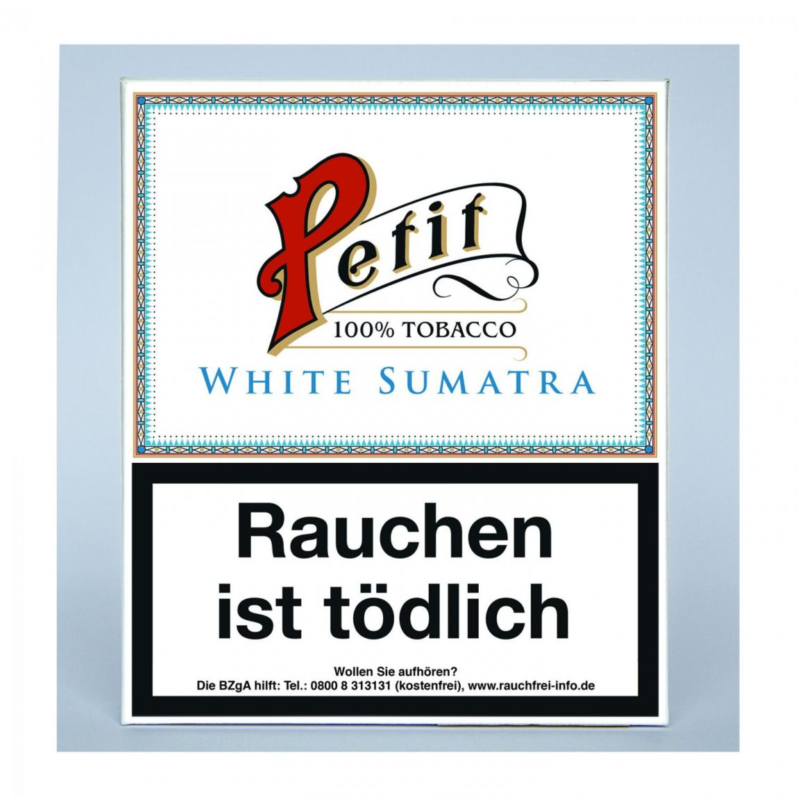 Petit Nobel Zigarillos »White Sumatra« 20er Schachtel