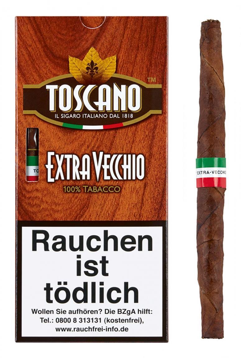 Toscano »Extra Vecchio« 5er Schachtel