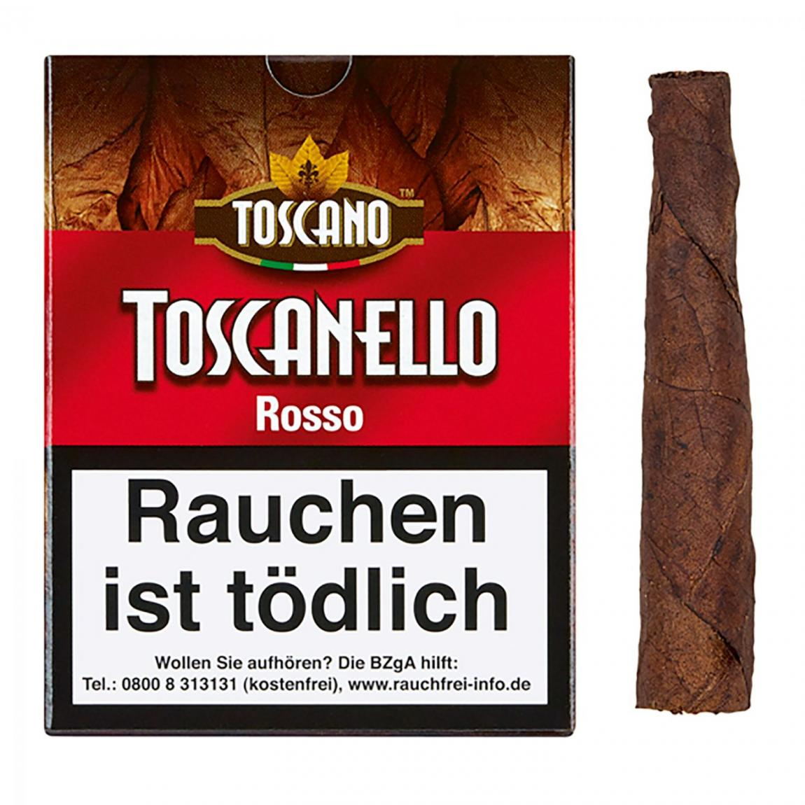 Toscano Toscanello »Rosso« 5er Schachtel