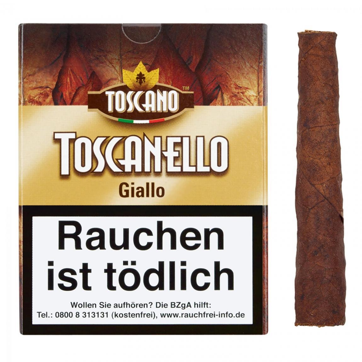 Toscano Toscanello »Giallo« 5er Schachtel
