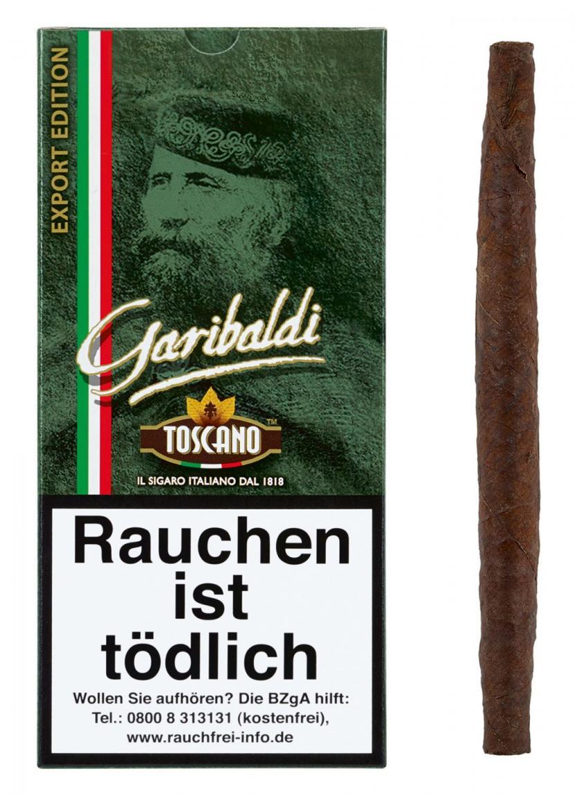 Toscano »Garibaldi« 5er Schachtel
