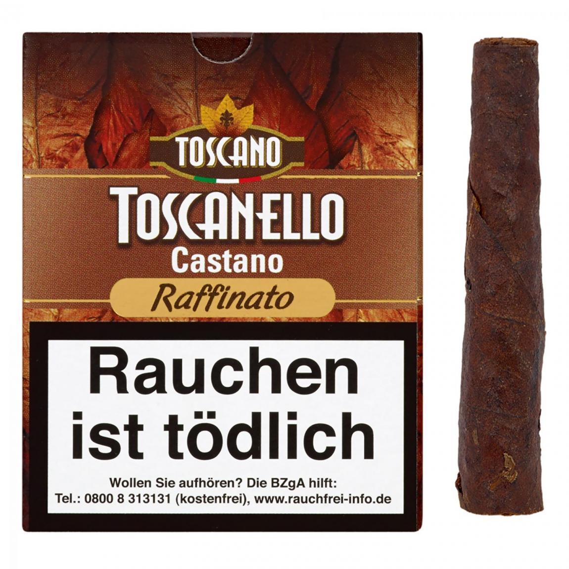 Toscano Toscanello »Castano Raffinato« 5er Schachtel