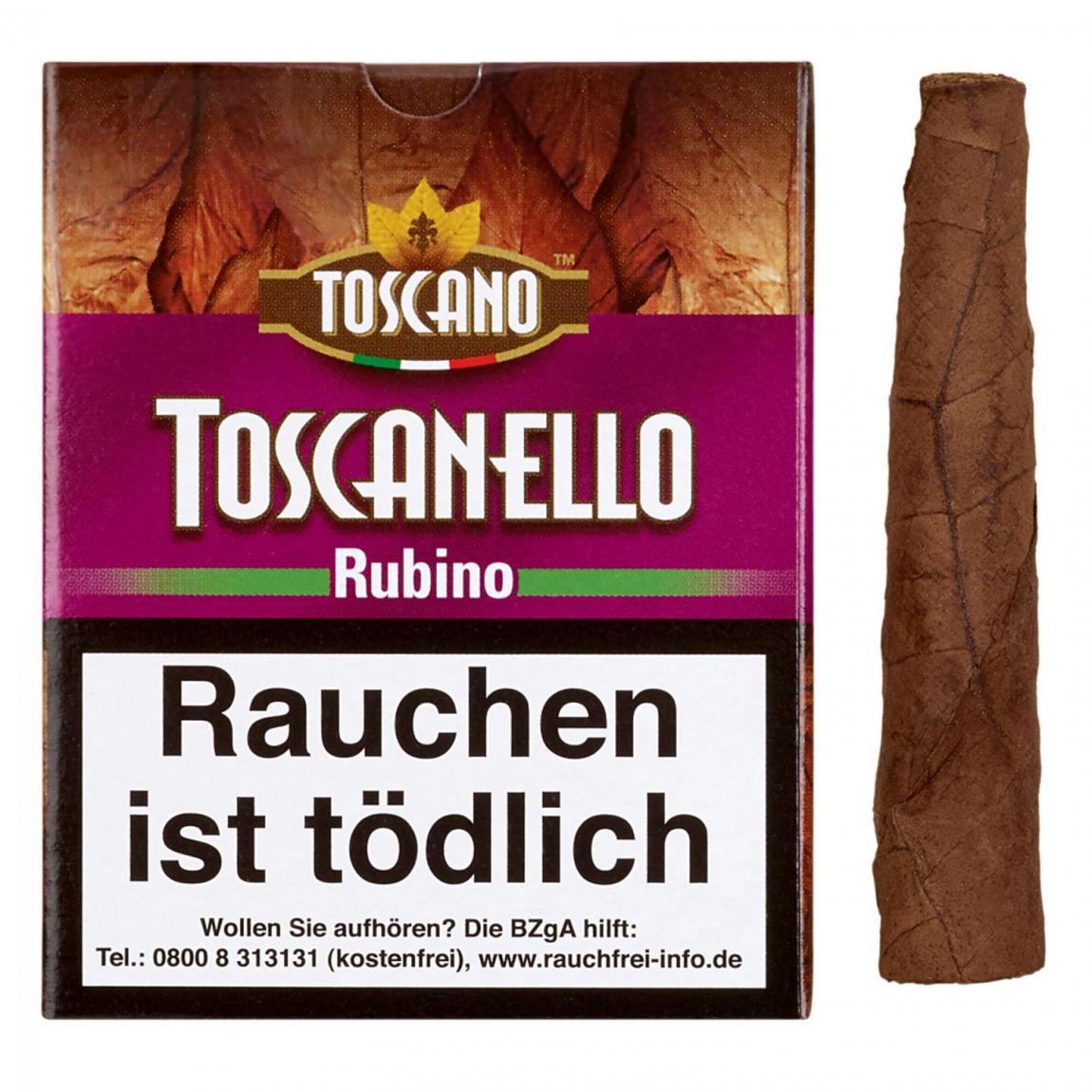 Toscano Toscanello »Rubino« 5er Schachtel