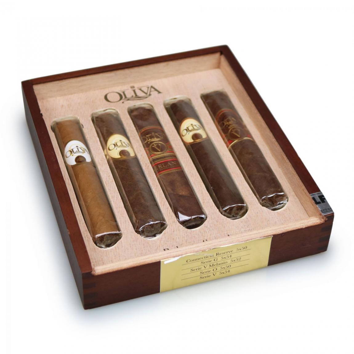 Oliva Robusto Variety Sampler 5er Box