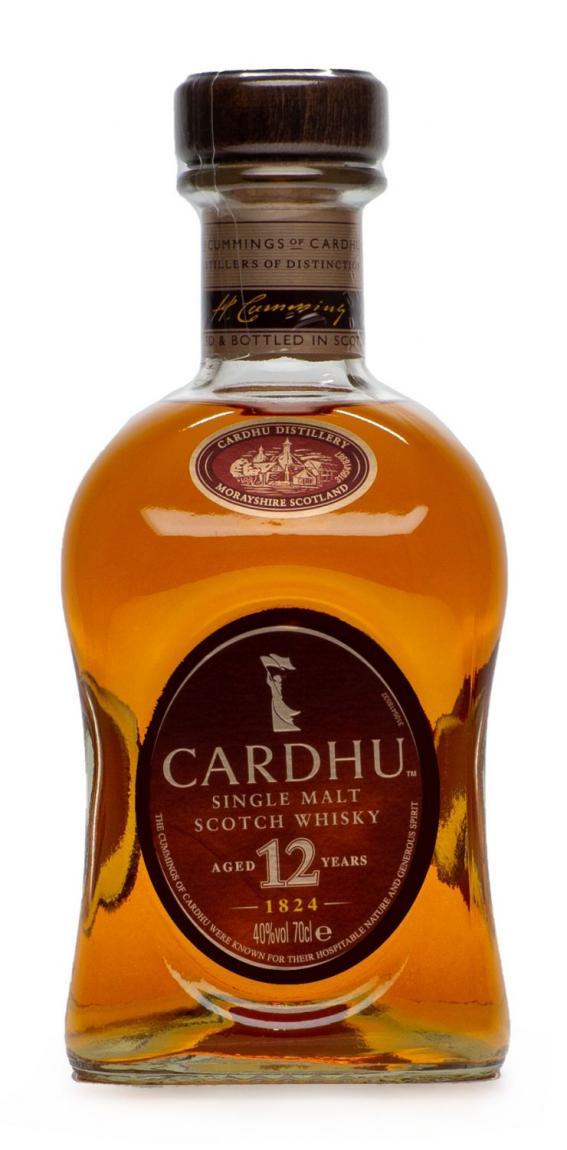 Cardhu »Single Highland Malt 12 Years«