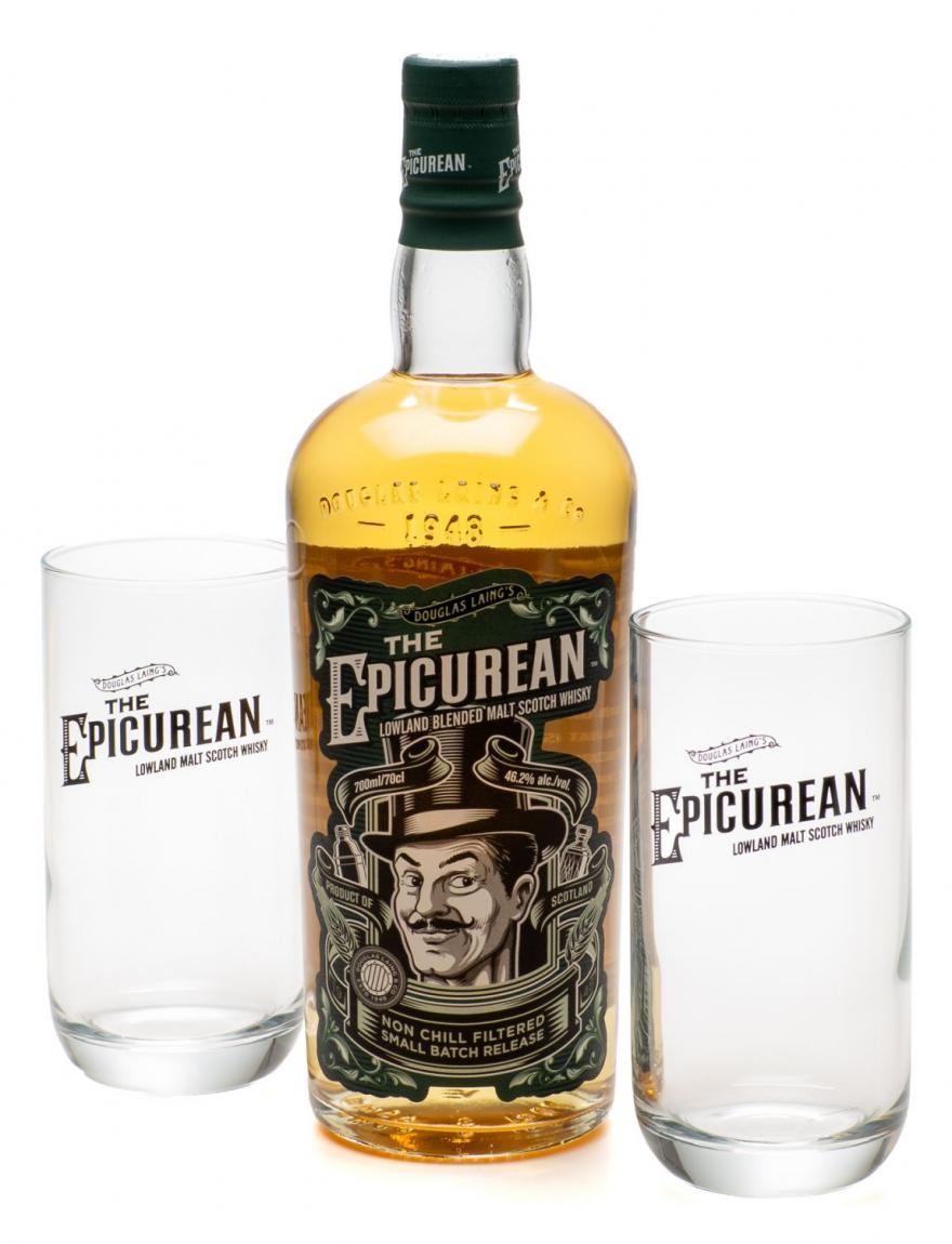 The Epicurean Lowland Blended Malt Scotch Whisky