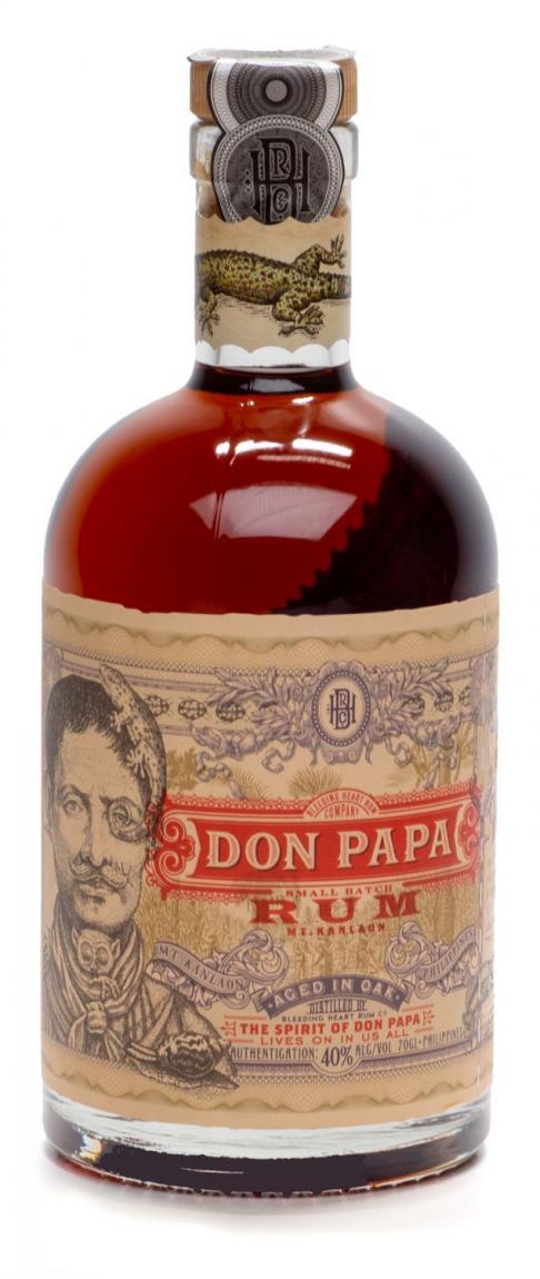 DON PAPA Small Batch Rum von den Philippinen