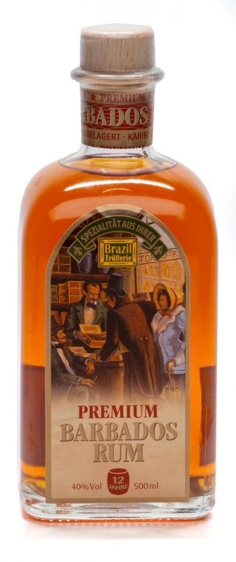 Brazil Trüllerie Premium Barbados Rum »12 Jahre fassgelagert