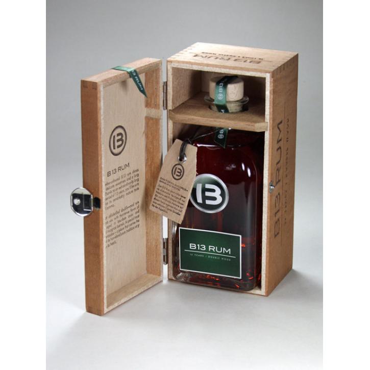 B13 Rum »13 Jahre« aus Barbados, 0,5L