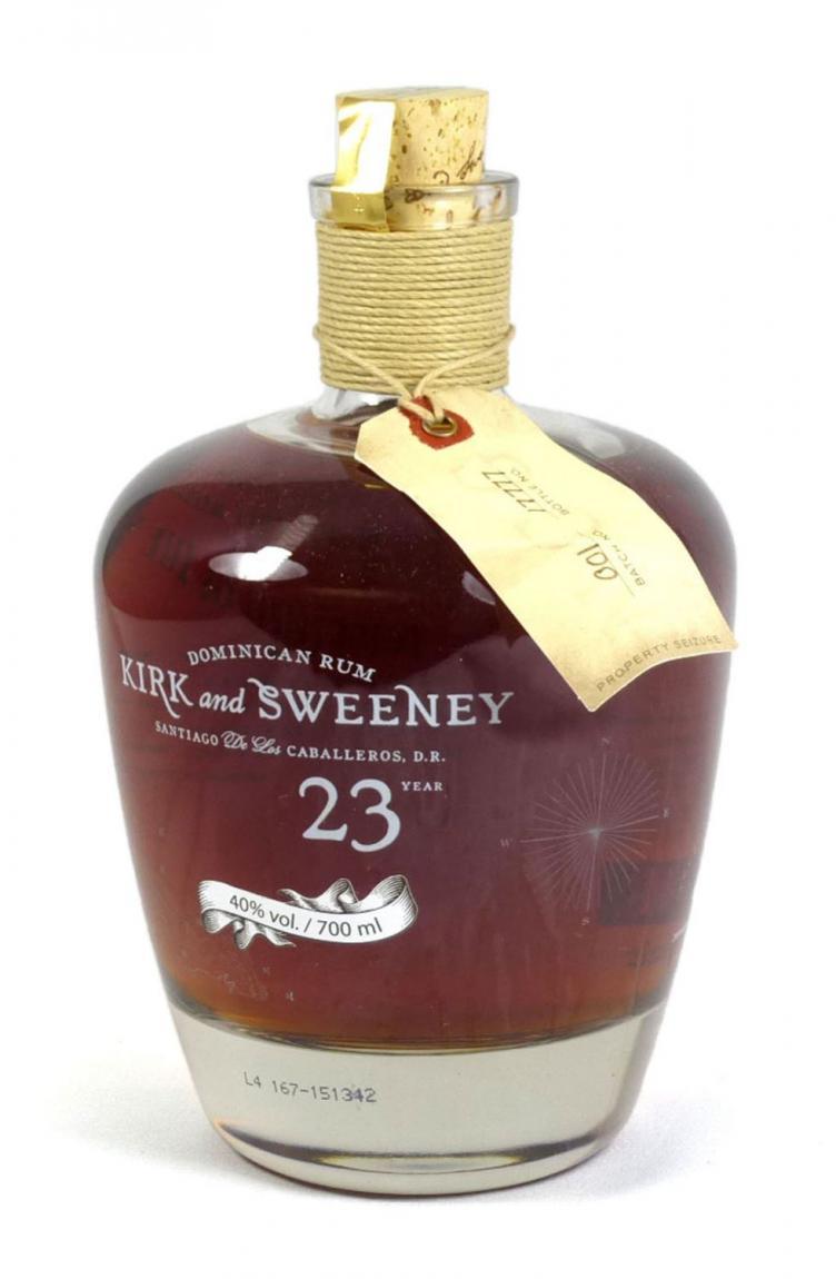 Kirk and Sweeney 23 Years Rum