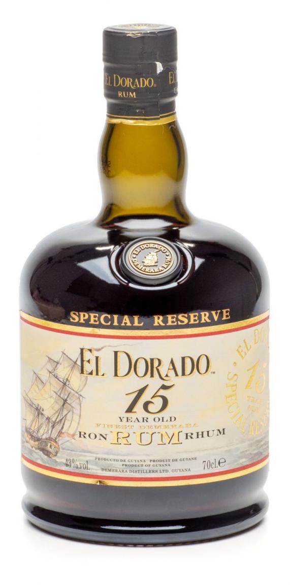El Dorado »Special Reserve 15 Years Old«
