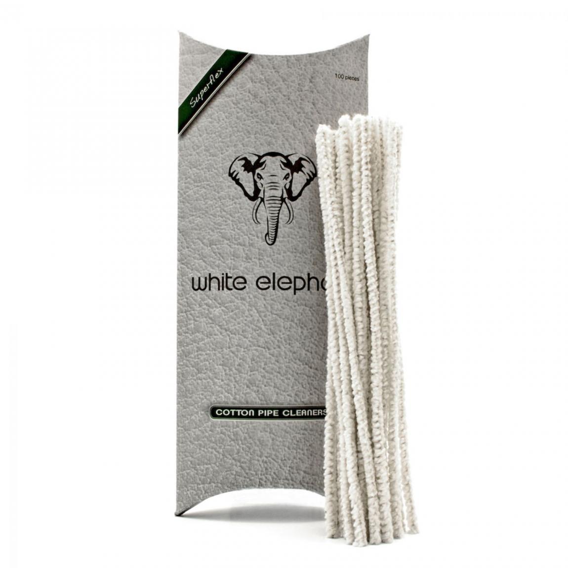 Pfeifenreiniger white Elephant Cotton 1x100 Stück