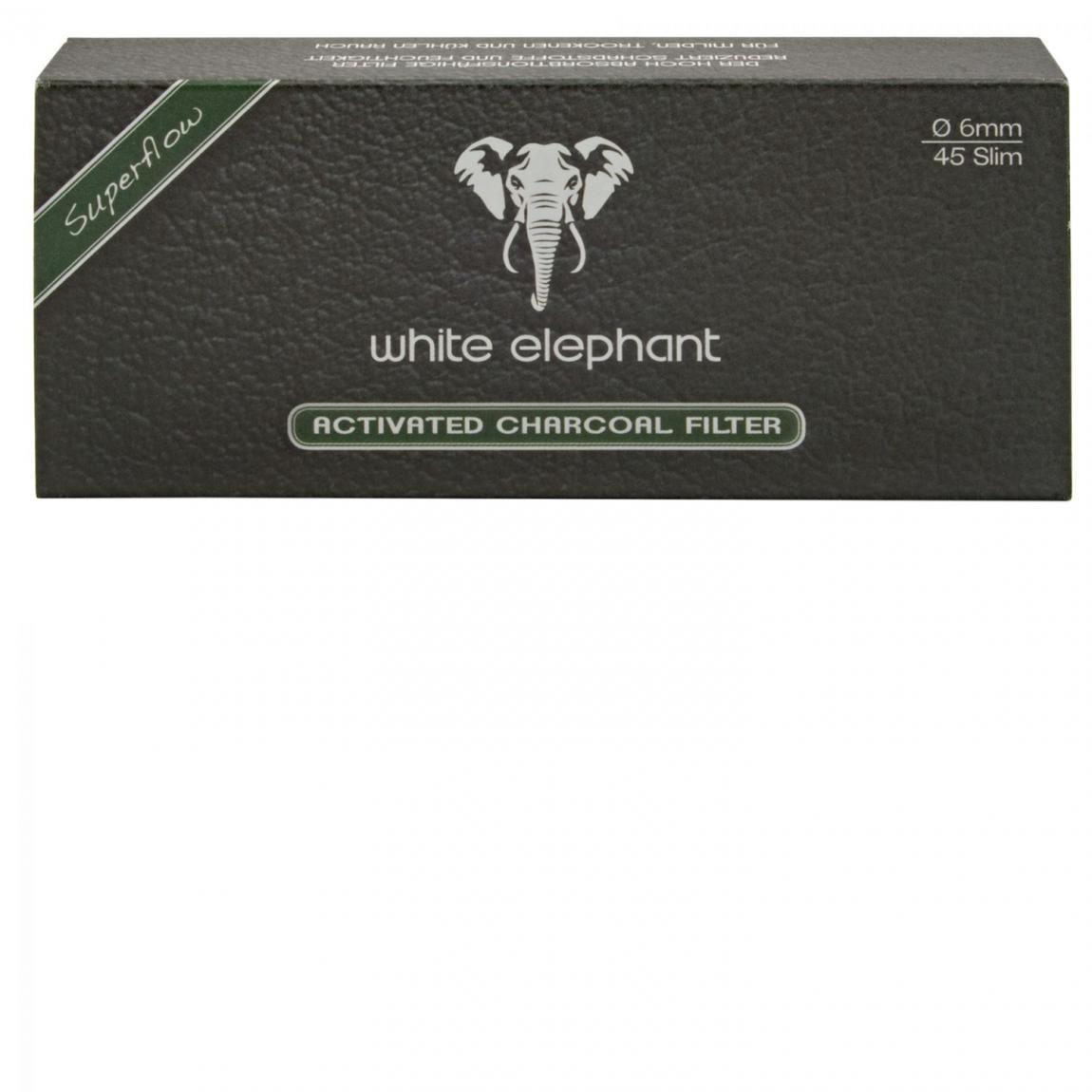 white elephant Aktivkohle-Filter 6mm, 5x45 Stück