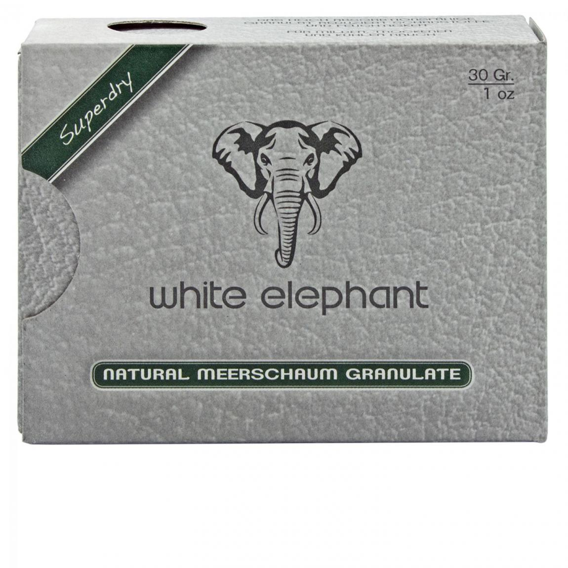 white elefant Meerschaum Granulat, 30g