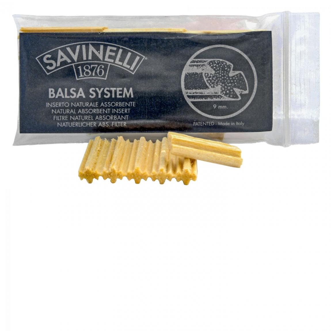 Savinelli Balsaholz-Filter Savinelli 9mm 1x15 Stück