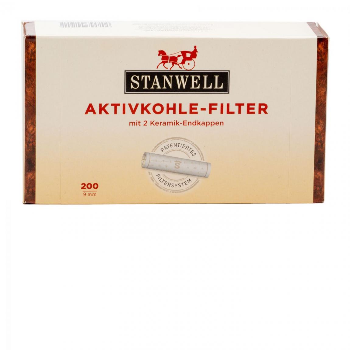 Stanwell Aktivkohle-Filter 9mm 1x200 Stück