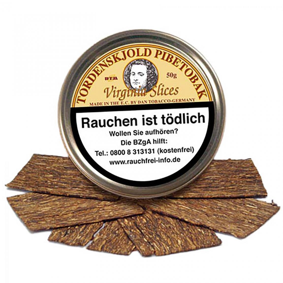 Tordenskjold »Virginia Slices« Flake - sanfter & natürlicher Genuss