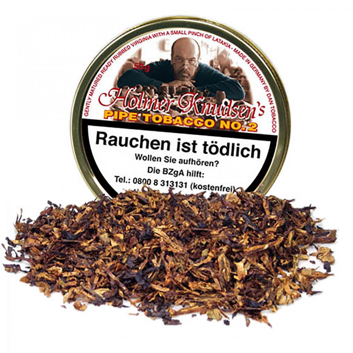 Holmer Knudsen's Pipe Tobacco No.2 50g Dose