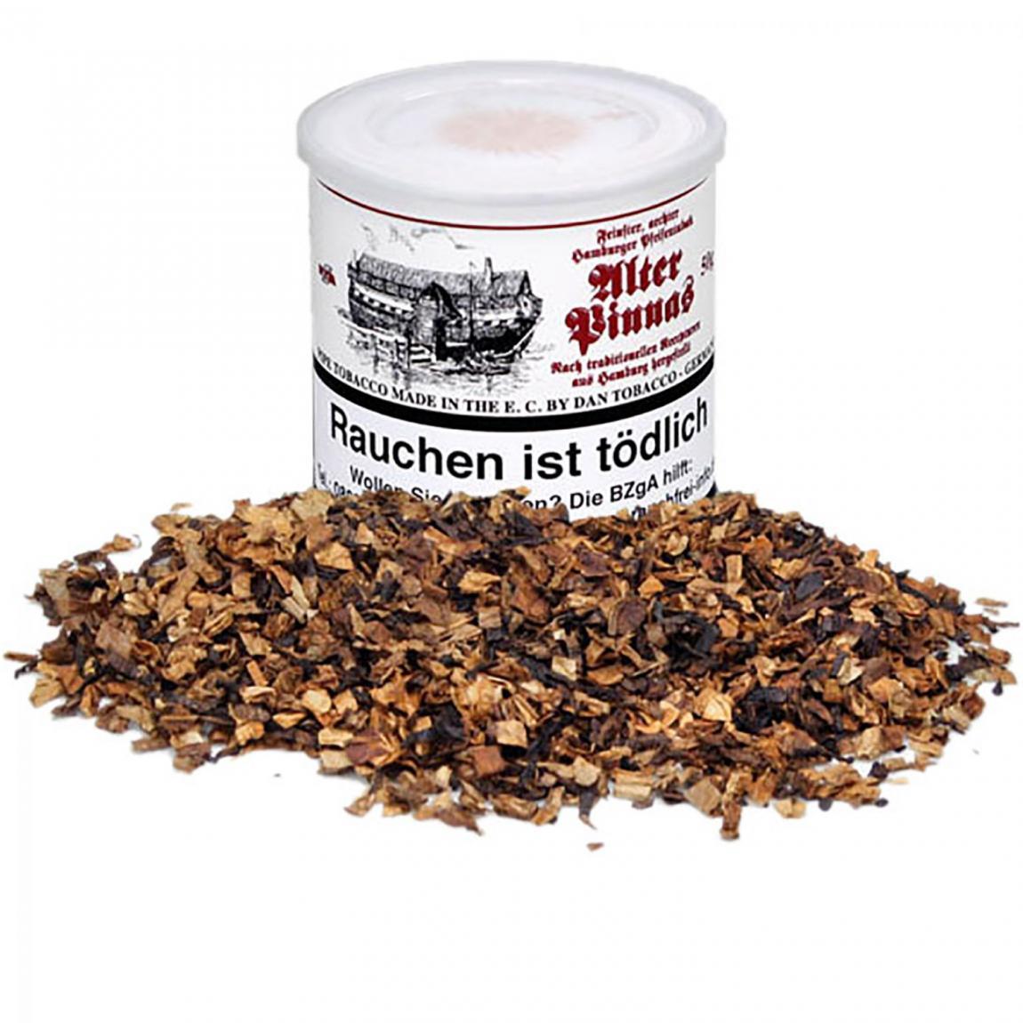 Hamburger Pfeifentabak Alter Pinnas - sanft & leicht süßlicher Duft