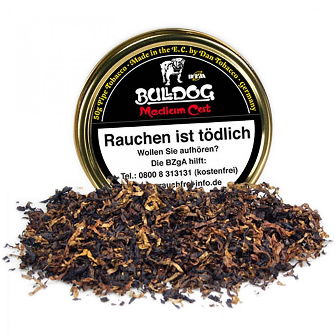 Bulldog Medium Cut - kühl im Rauch mit aromatisch-würzigem Duft