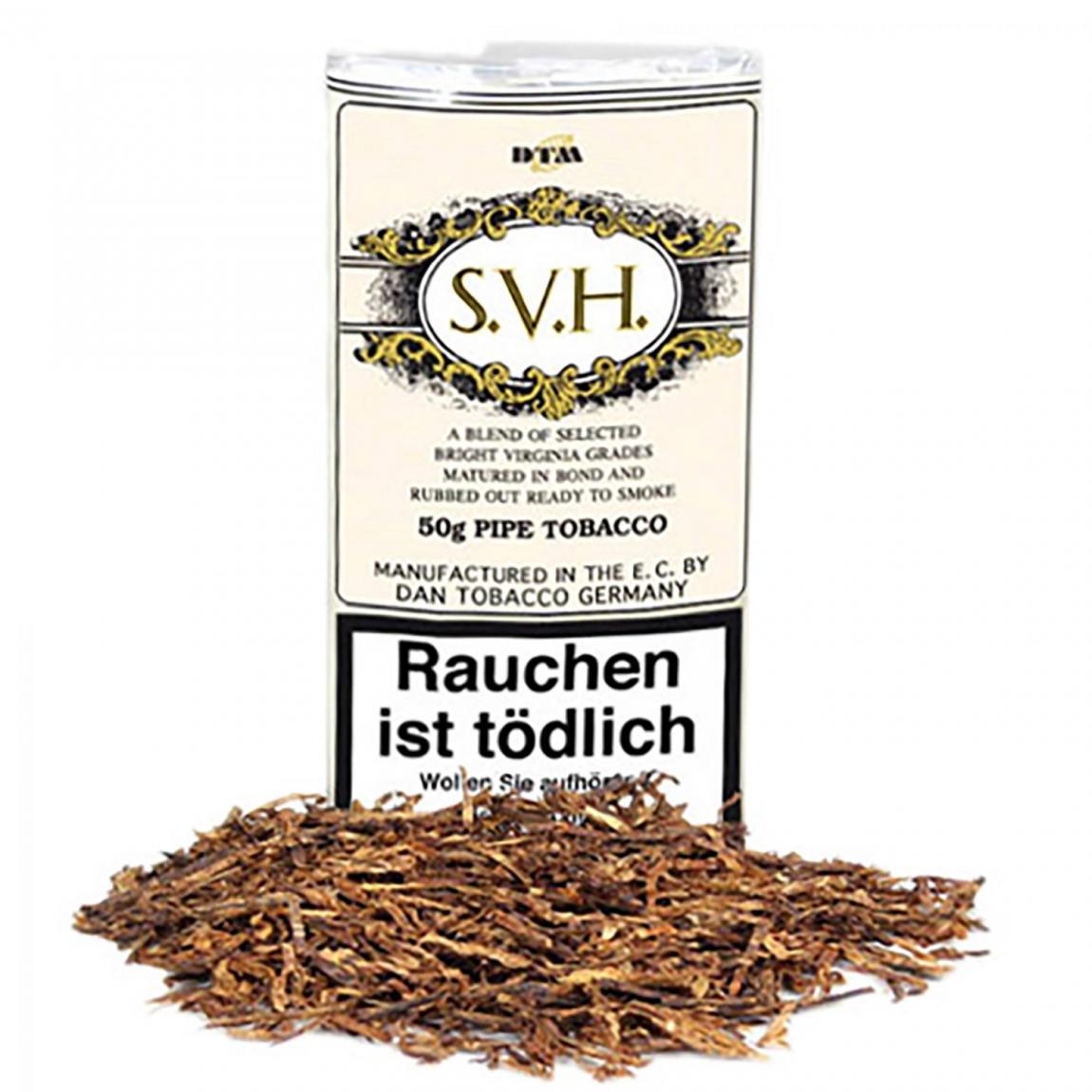 S.V.H. Pipe Tobacco - meisterliche Mixtur, natürliche Süße & Vanille