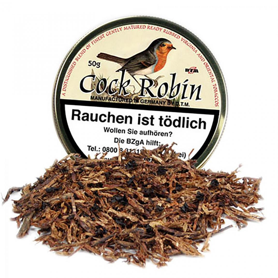 Cock Robin, Ready Rubbed 250g Sparpack