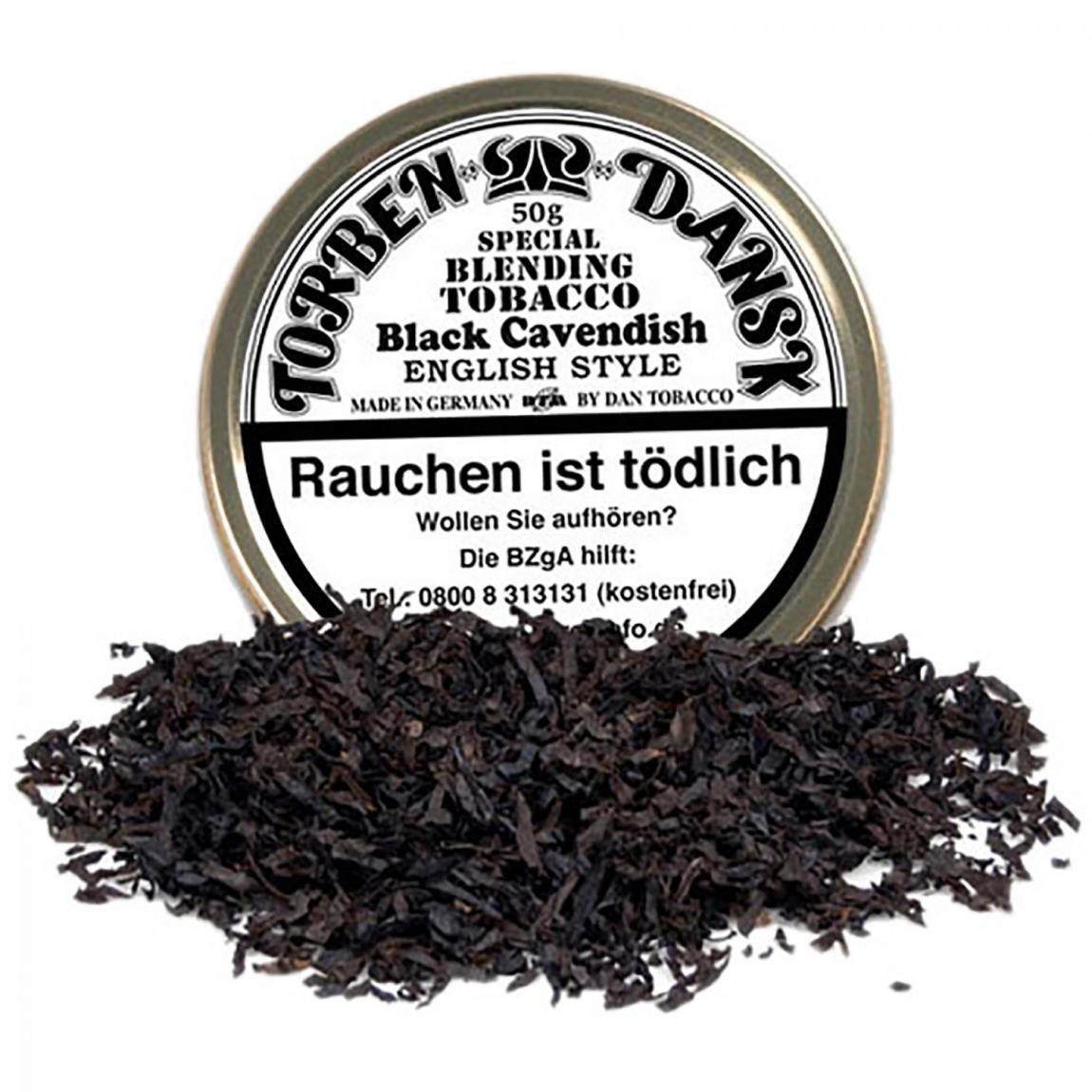 Torben Dansk Black Cavendish English Style - süß ohne Flavour