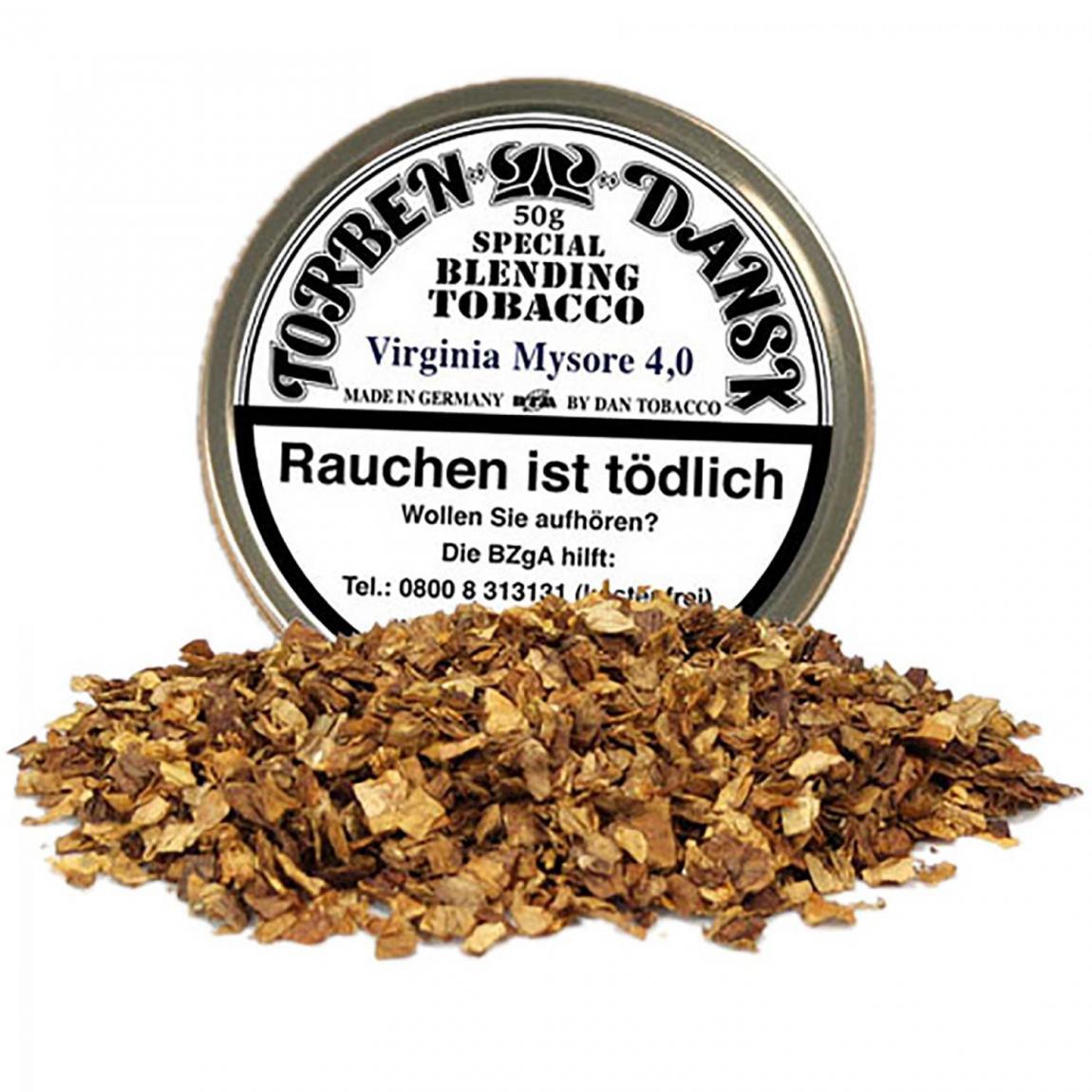 Torben Dansk Virginia Mysore 4,0mm - blumig (25% Zucker)