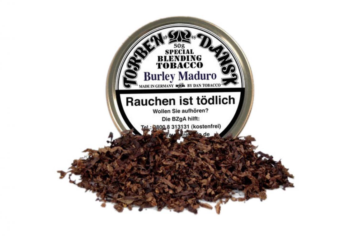 Torben Dansk Burley Maduro 2,5mm 50g Dose