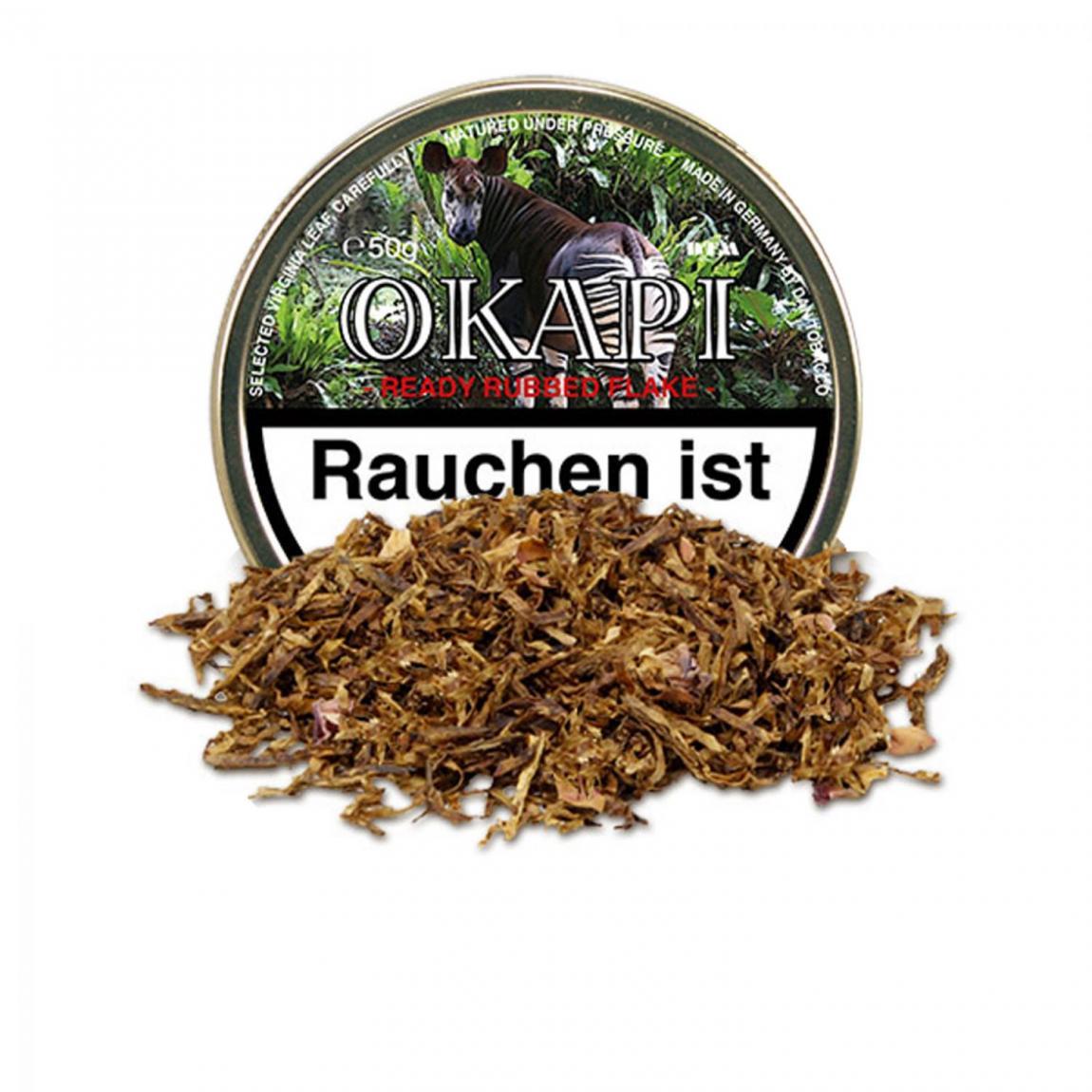 Okapi »Ready Rubbed Flake« 50g Dose
