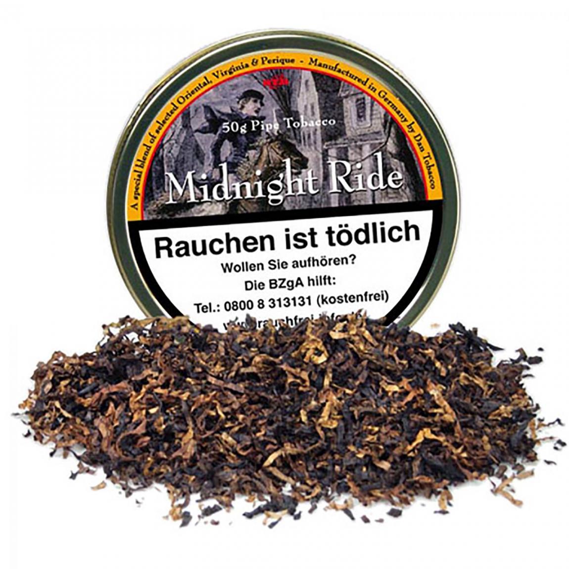 Midnight Ride - tabakechter Genuss mit einer Prise Perique