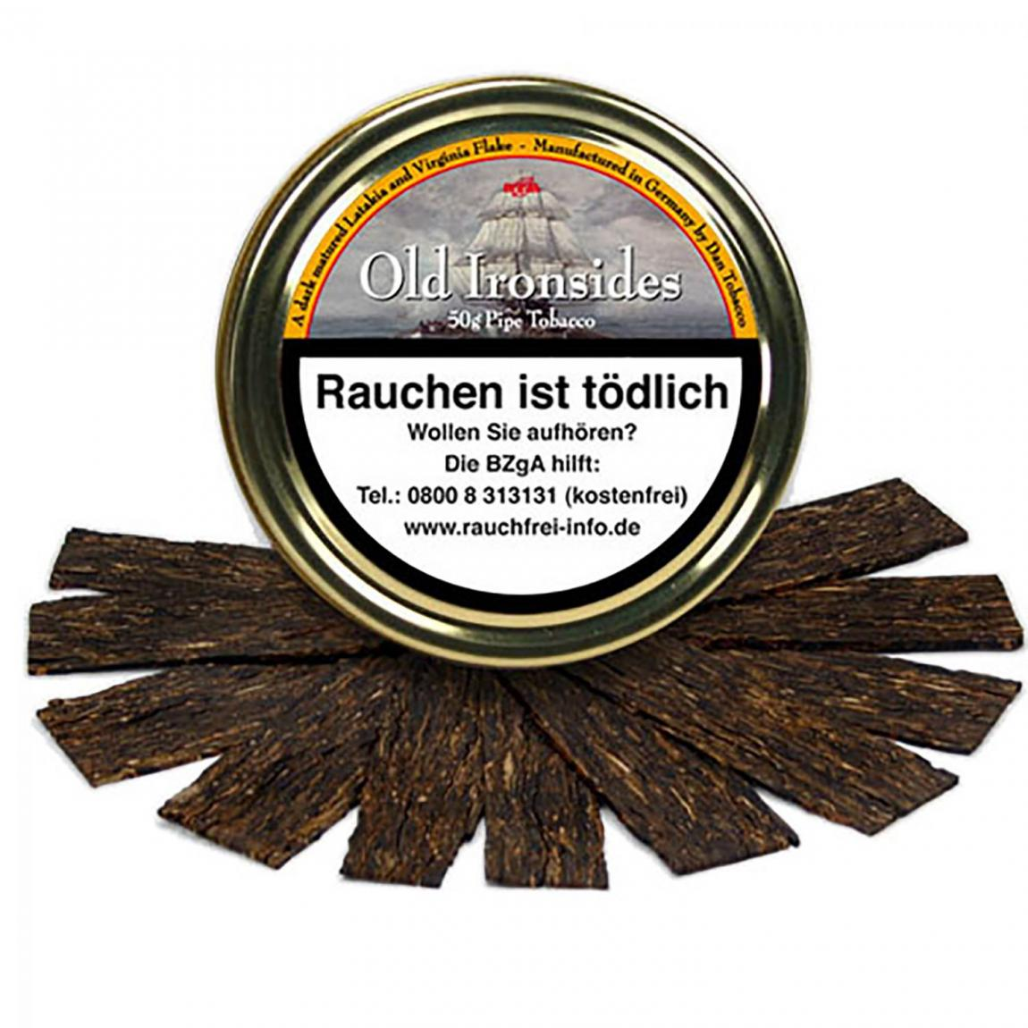 Old Ironsides Flake - kräftige Würze & süß getöntes Aroma