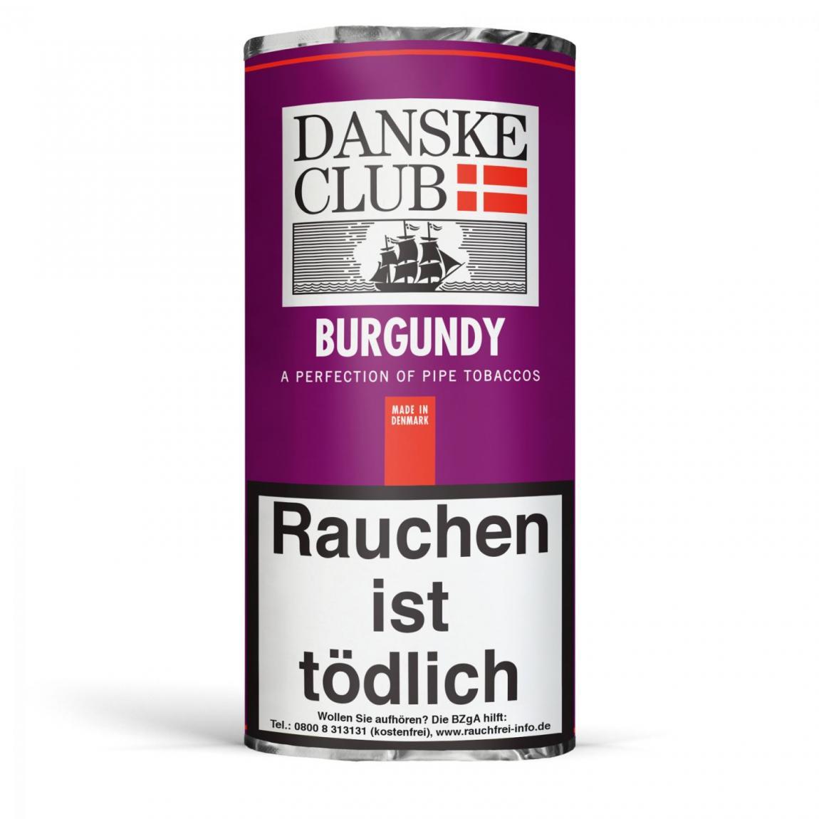 Danske Club »Burgundy« 50g Pouch
