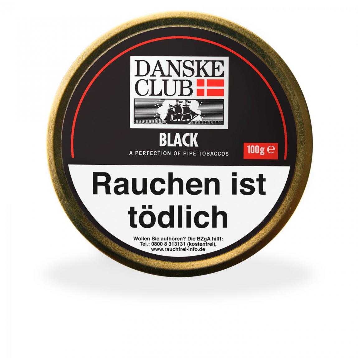 Danske Club »Black« 100g Dose