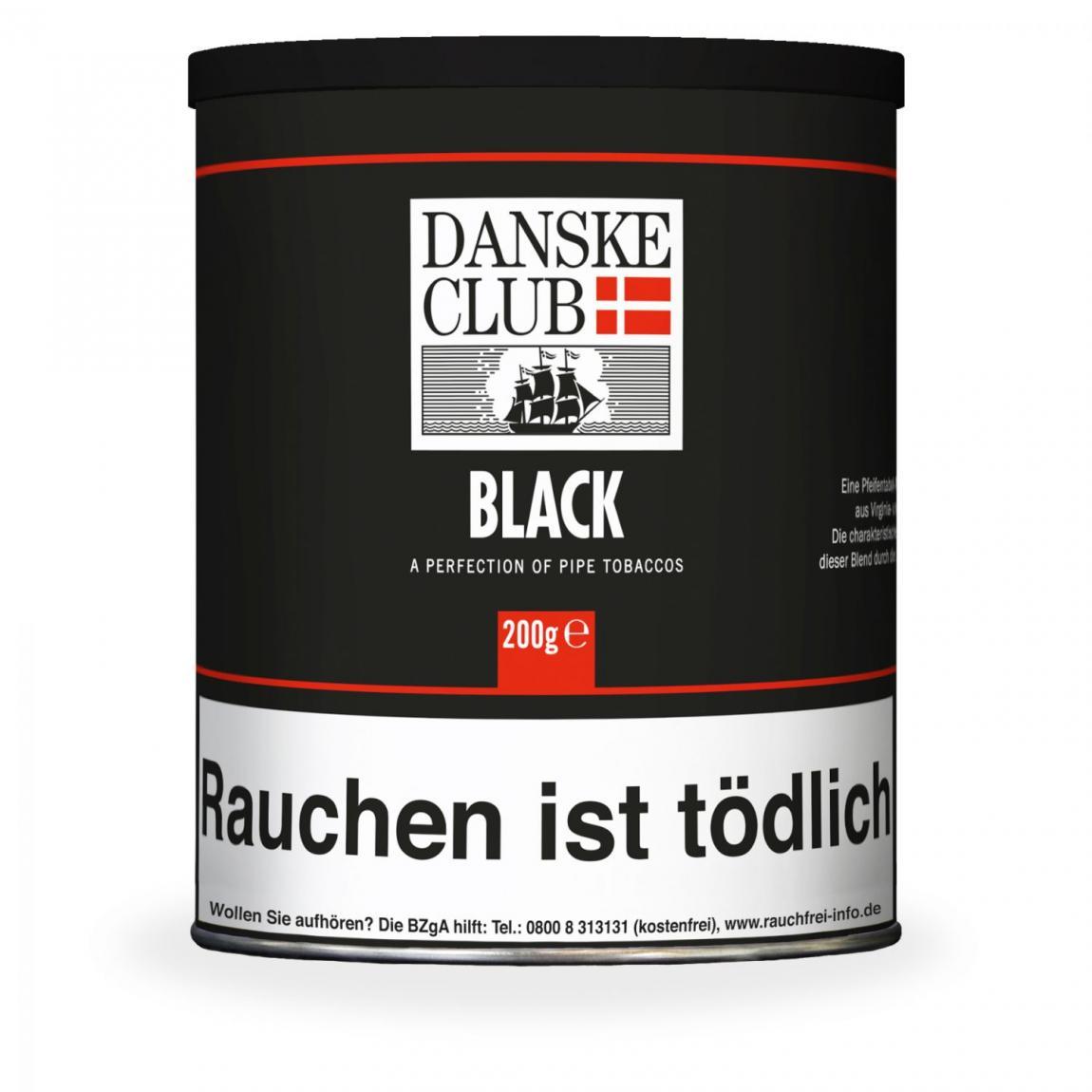 Danske Club »Black« 200g Dose