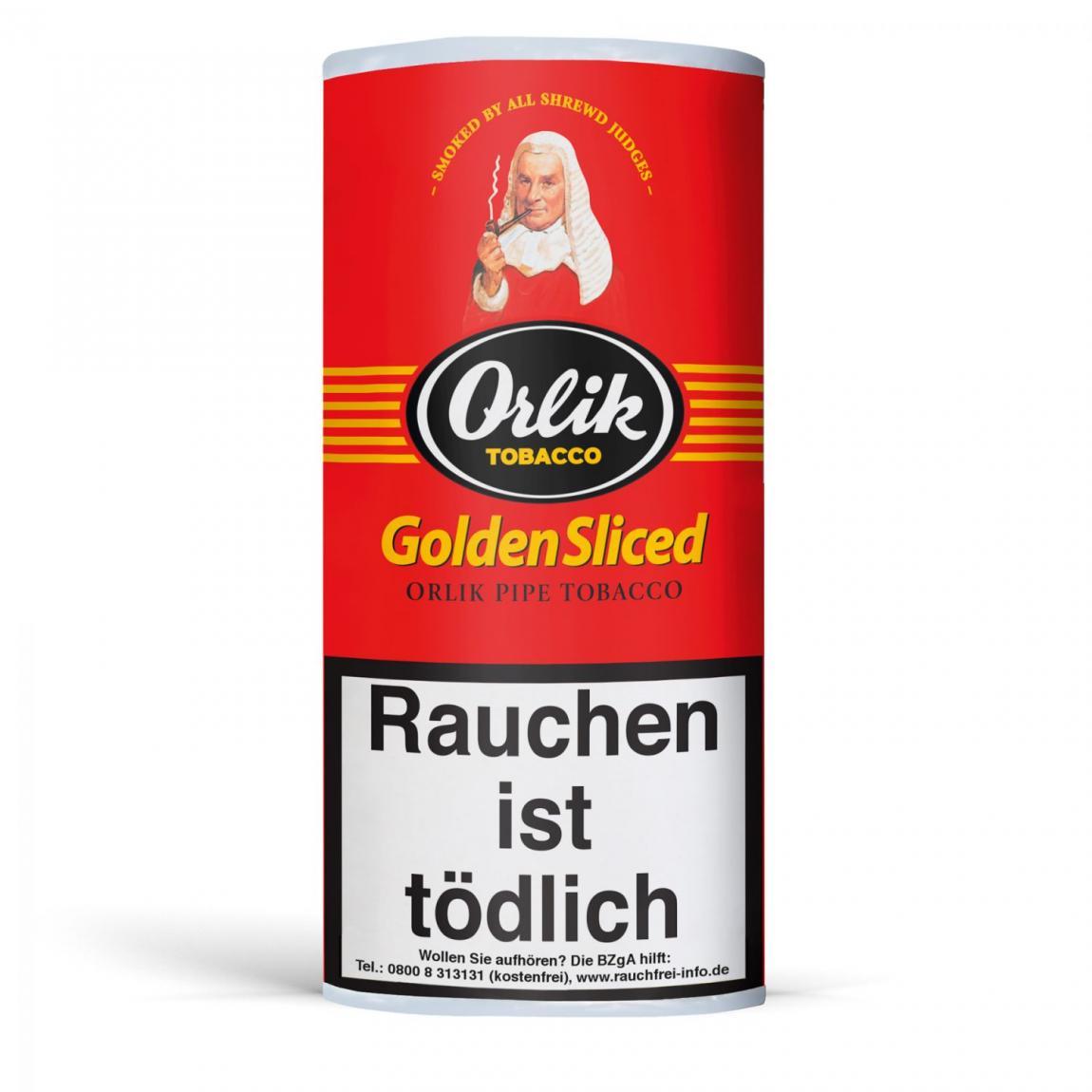 Orlik »Golden Sliced« 50g Pouch