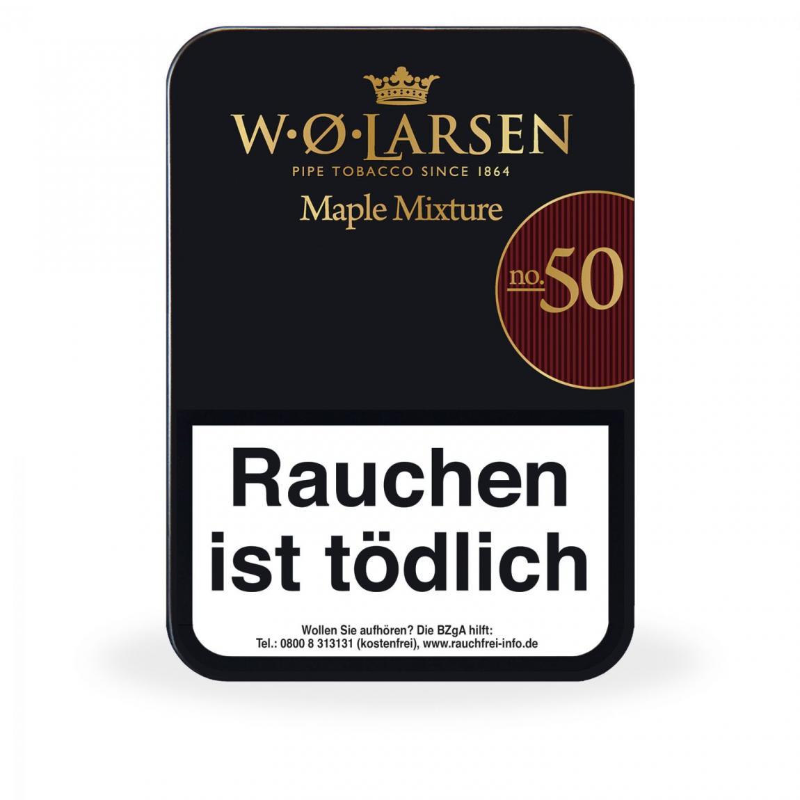 W. Ø. Larsen »Maple Mixture No. 50« 100g Dose
