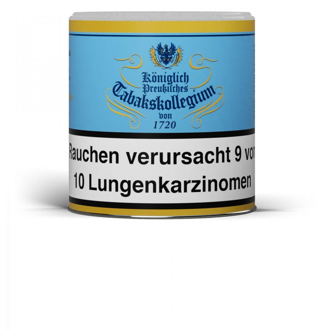 Kgl. Preußisches Tabakskollegium von 1720 (blau) 100g Dose