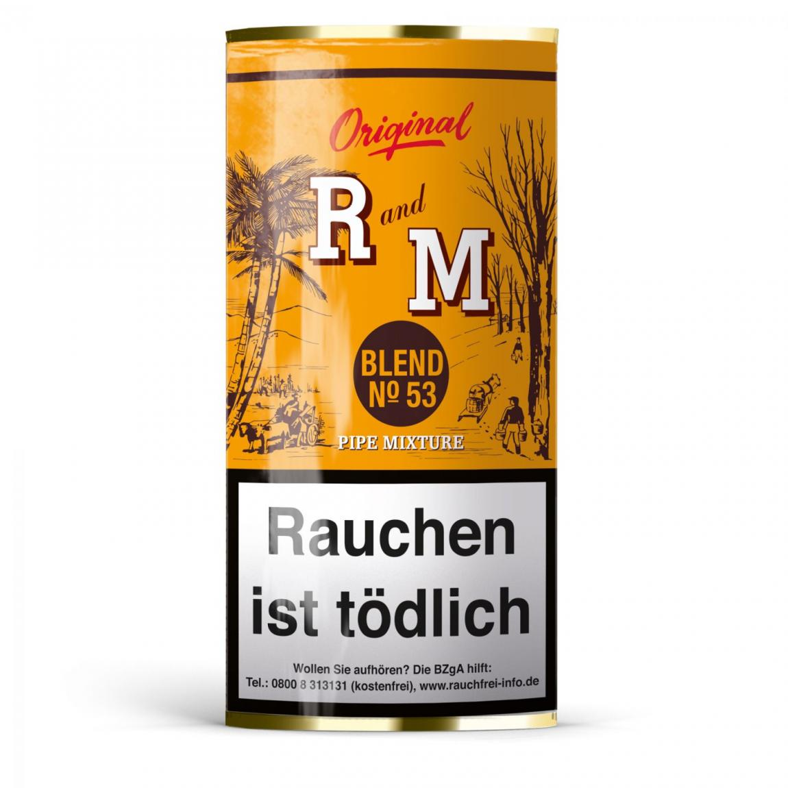 R and M Pipe Mixture Blend No 53, 50g Pouch