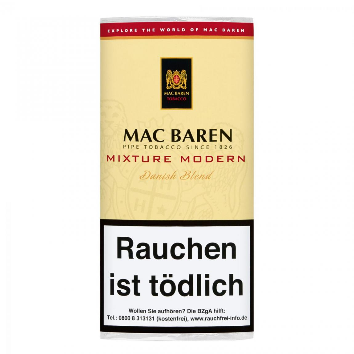 Mac Baren »Mixture Modern« Danish Blend 50g Pouch