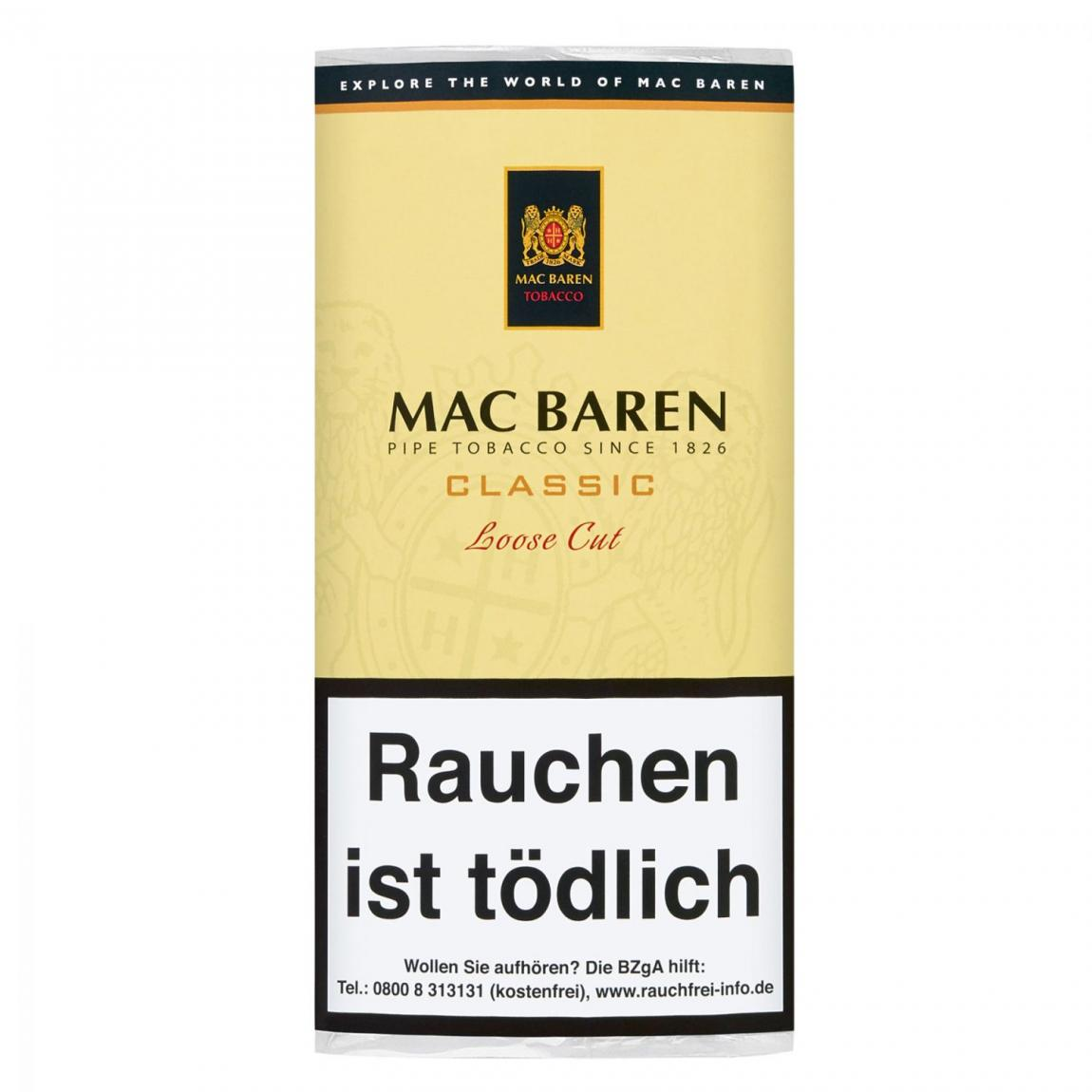 Mac Baren »Classic« Loose Cut 50g Pouch