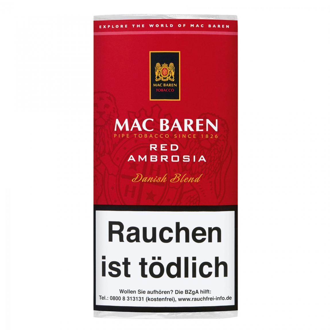 Mac Baren »Red Ambrosia« Danish Blend 50g Pouch