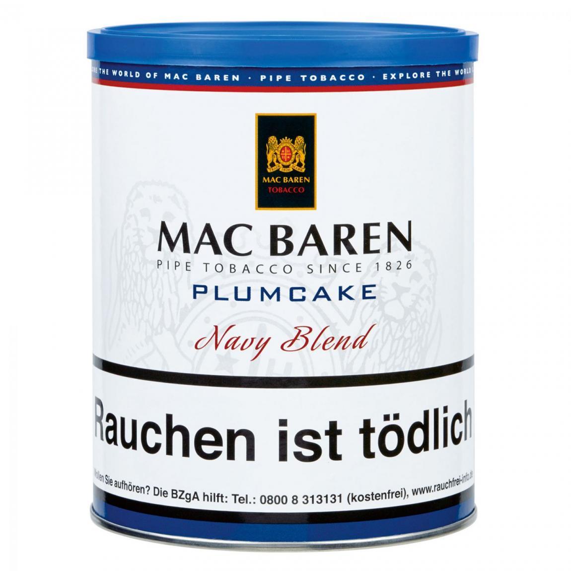Mac Baren »Plumcake« Navy Blend 250g Dose